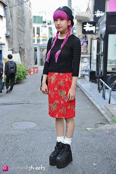 FASHION JAPAN: Emily Tsukishima (Harajuku,Tokyo,Viva Cute Candy,Pameopose,MCM,ME,SPINNS,YRU)