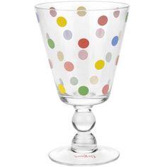 dotty wine glass