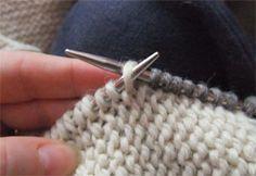 Knit T&T - Pick up stitches on Pinterest Stitches, Knitting and Knits