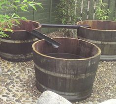oak barrel water play area image only link