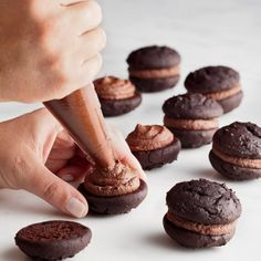 Mini Chocolate Whoopie Pies