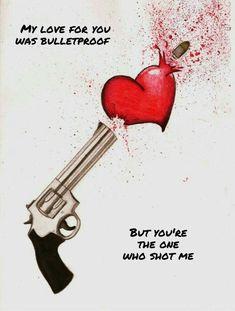 Pierce The Veil - Bulletproof Love Sad Drawings, Dark Art Drawings, Art Drawings Sketches, Broken Heart Drawings, Broken Heart Art, Anuel Aa Wallpaper, Iphone Wallpaper, Heartbroken Drawings, Pierce The Veil Lyrics