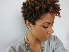 Short natural Hairstyles - 4 Fabulous Takes!