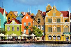 Bright and bold, these towns will make you admire the never ending beauty of so many buildings, all painted in few colors, or even more. #Travel