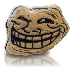 Troll Meme beanbag toy