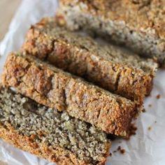 Paleo Banana Bread   gluten free and naturally sweetened