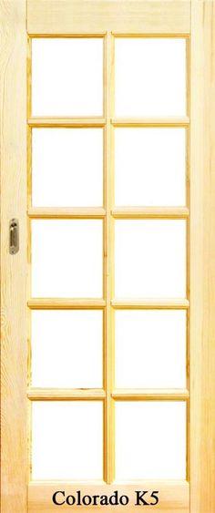 Colorado K5 surowe drzwi przesuwne