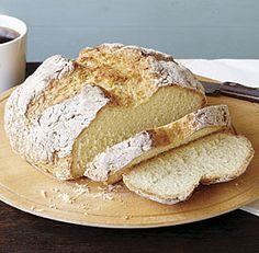 Irish Soda Bread - made this the other day and it's really simple, moist & delicious! I would increase salt to at minimum 1 tsp