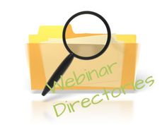 Part of having a successful #Webinar is having an audience and using Webinar Directories is an additional way to promote your webinar increasing your audience size.