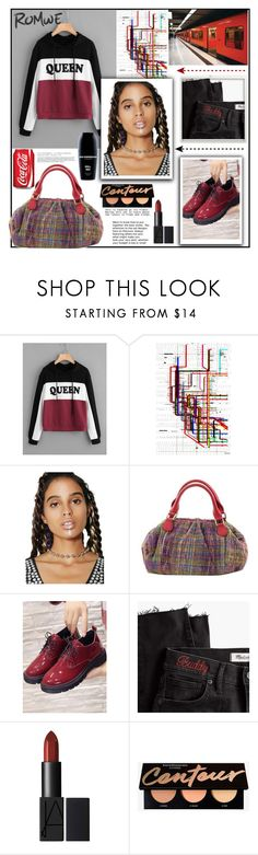 """""""Romwe"""" by natalyapril1976 ❤ liked on Polyvore featuring Parvez Taj, The Ragged Priest, NOVICA, Madewell and Bad Norwegian"""