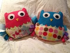 bubbles+bobbins: Tutorial: How to Make an Owl Taggie Doll