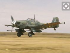WWII German Stuka dive bomber modified with a 37 mm cannon to become a tank buster!!