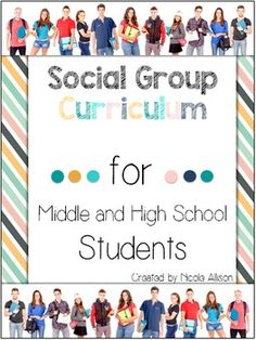 An entire social group curriculum for a year! This huge 70 page packet includes everything from starting up your first social group to providing engaging and organized lessons (with all materials needed) for 20 sessions. Your students will be learning functional, real-life skills needed in order to be successful members of society.