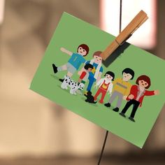 The 'Méobils' by Rachel F.Printed Illustration on Postcard#ChildrenBrokenWords#BrokenWords #mypushup https://www.mypushup.com