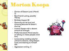 Profiles: Morton Koopa