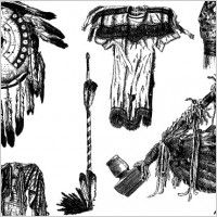 Native American Feather Clip Art | Clipart Native American Indian ...