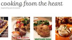 cooking from the heart got a facelift! check it out at the NEW domain http://cookingfromtheheart.net/ !!!