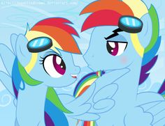 A continuation of this one: fav.me/d7je0qz I'm expecting to see some funny dialogue in the comments Rainbow Dash & MLP:FIM © Lauren Faust, Hasbro. Rainbow Blitz © ...