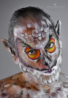 Galerie de photos   Maquillage corporel   Yossi Bitton - Professional Makeup School