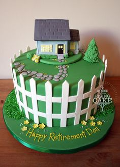 A Colourful House Warming Cake For New Home Owners Cakes & Cake