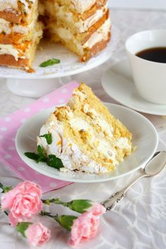 Ihana Mango-passion Britakakku - Suklaapossu Baking Recipes, Cake Recipes, Dessert Recipes, Desserts, Baking Ideas, Just Eat It, Breakfast Cake, Pastry Cake, Foodblogger