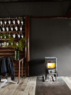 Credit: Birgitta W Drejer/Sisters Agency The cabin is freezing in the winter, but they get the original Morsø<...