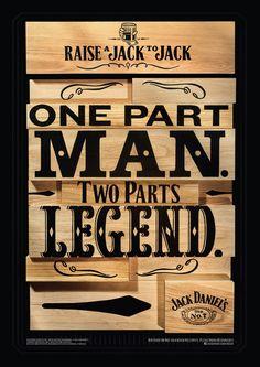 Jack Daniel's : Birthdays, Loved, Legend, Unchanged