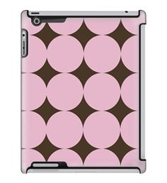 Uncommon LLC Large Pink Dots Deflector Hard Case for iPad 2/3/4 (C0060-QS)