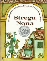 strega nona -- so like my Sicilian grandmother.  Anything by Tommy dePaola is wonderful.  My son's favorite author as a child.  He was even lucky enough to meet him at the young author's awards where he was a winner.