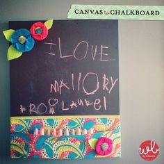 canvas to chalkboard