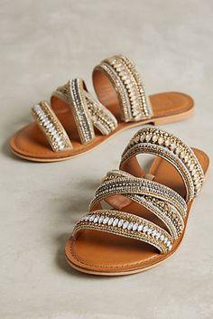 A wear with everything embellished slide: Jasper & Jeera Azille Slides