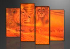 NOVEDAD! Cuadro en lienzo AFRICA, Arte, Dibujo, Arte, Pintura, Arte, Fotografía, Hogar, Cuadros