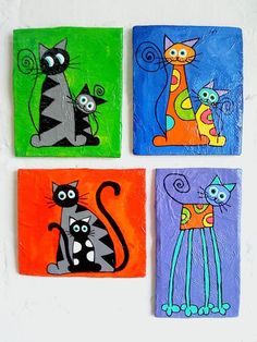 Resultado de imagen de Easy Acrylic Painting Cat