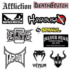 MMA logos
