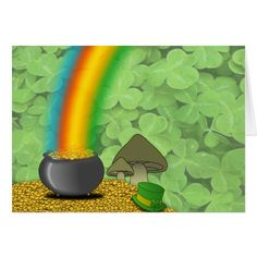 St. Patrick's Day Greeting Card - tap to personalize and get yours