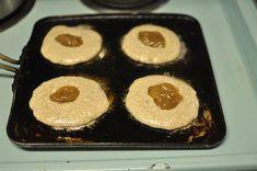 jam-filled pancakes