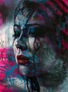 Elizabeth Winnel, figure, portrait, mixed media, self portrait Atelier D Art, Electronic Art, Portrait Art, Portraits, Canadian Artists, Dark Art, Love Art, Female Art, Amazing Art