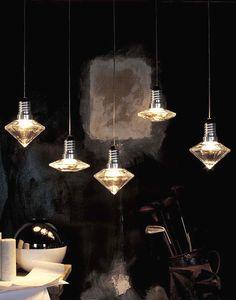 KAGADATO selection. The best in the world. Industrial lighting design. ************************************** Kristal-Diam | lighting . Beleuchtung . luminaires | Design: TERZANI |