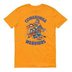 Cowabunga Golden State Warriors