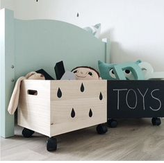 Toy box to possibly go inside wardrobes