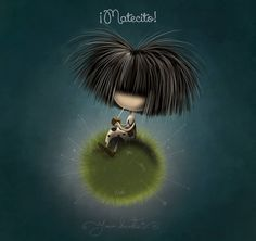 Perfect World, Cute Creatures, Cute Images, Black Wallpaper, Cartoon Kids, Girl Hairstyles, Illustrators, Pure Products, Holiday Decor
