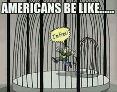 Land of the free is so outdated. We have more people in prison than any other country in the world.