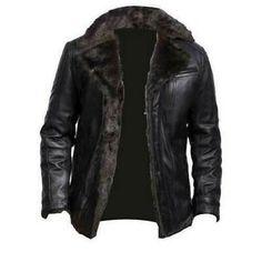 Brown Leather Bomber Jacket, Shearling Jacket, Fur Jacket, Jacket Men, Men's Leather Jackets, Fur Coat, Sheepskin Coat, Aviator Jackets, Men's Fashion Styles