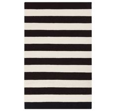 Black And White Striped Dhurrie Rug At Cost Plus World Market Worldmarket Home Decor Area Rugs Tips Tricks Curtains Pinterest