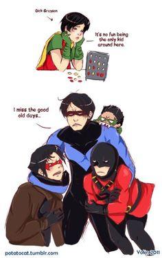 Poor Dick. ---- lol Damian