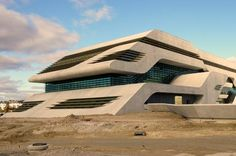 Pierres Vives, Montpellier, France, in December 2011 (opened in 2012), designed by Zaha Hadid