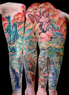 ww2 tattoos | ... image keyword galleries color tattoos realistic tattoos custom tattoos