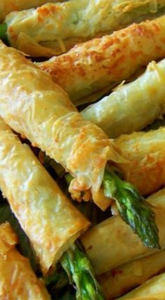 Fresh Approach Cooking: Asparagus Phyllo Appetizers