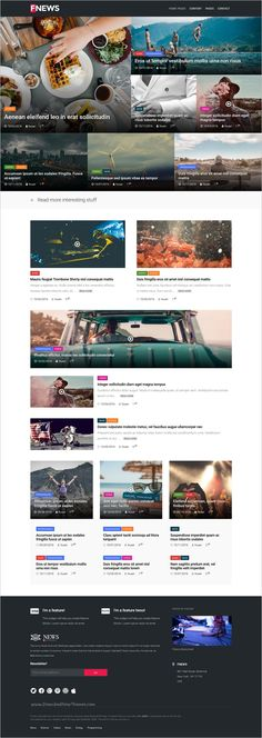 Feeleep is a feature rich responsive #WordPress theme for #News and #Magazines websites with 4 versatile layouts download now➩ https://themeforest.net/item/feeleep-wp-simple-magazine-theme/18980260?ref=Datasata