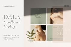 Dala - Moodboard Scene Creator by Sparrow & Snow on @creativemarket